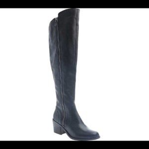 Nicole Clooney Over The Knee Boots